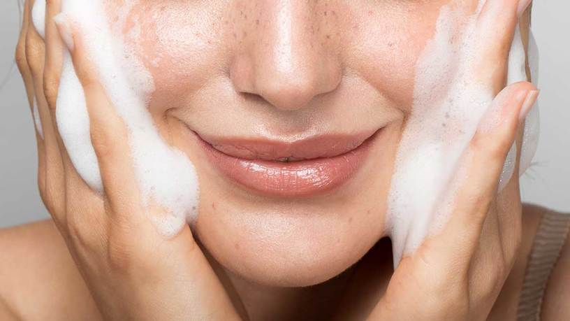 Face wash in summers