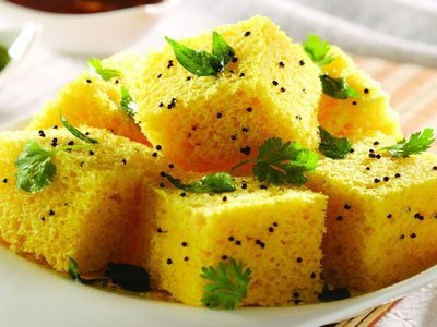Steamed Dhokla